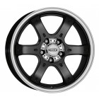 DOTZ CRUNCH 8x18 6x139 ET20 D106,1 Black