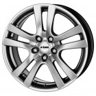 RIAL COMO sterling silber 7x17 4x100 ET40 D63.3