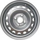 EURODISK 64A40Z 6x15 4x100 ET39 D56,5 Silver