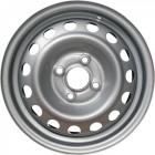 TREBL 52A45D 5.5x13 4x100 ET45 D57.1 Silver